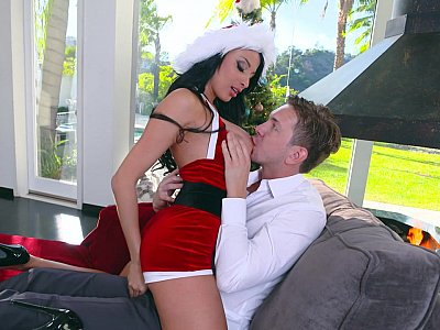 X-mas cheer for a naughty boy