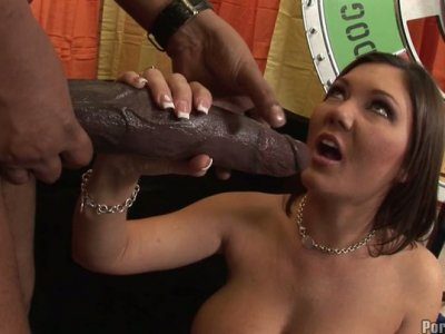 The kinky game in which Clarie Dames wins