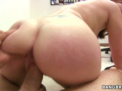 Smooth Cammie Fox rides the dick passionately