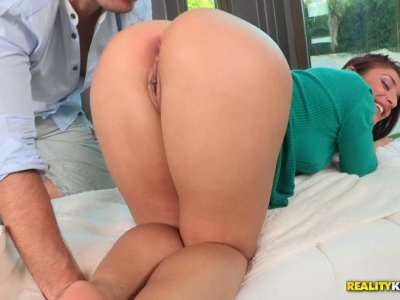 Appetizing Mischa Brooks demonstrates a hot oral sex video