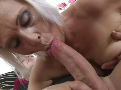 Small titted Mom fucking her toyboy