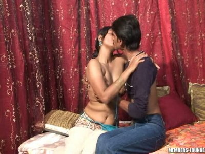 Sexy and busty Indian wife Neha gets naked and horny with her husband