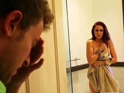 Sultry Monique Alexander and Karlee Grey Giving Blowjobs