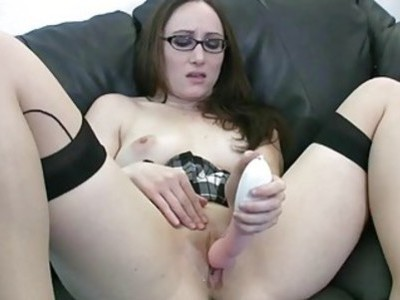 Cute coed Crystal Clark is plaing with her big dil