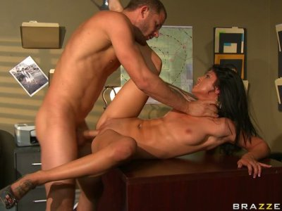 Hot and sexy Sadie West is pro in all the basic sex positions