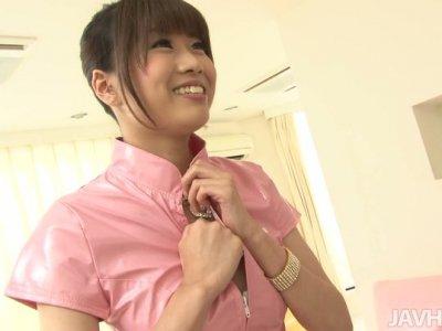 Ririka Suzuki is a first aid service for horny men