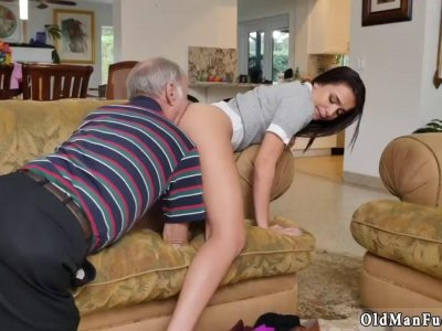 D by dirty old man and sexy mature xxx Riding the Old Wood