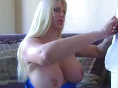 Home Alone MILF Takes Care Of Delivery Guys Cock