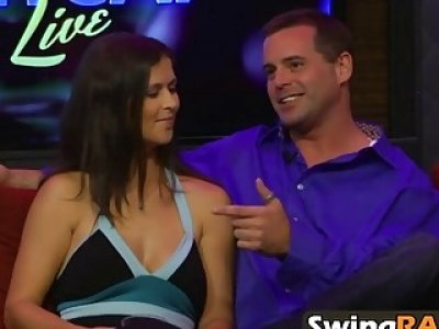 Horny swinger couples fucking in amazing reality show