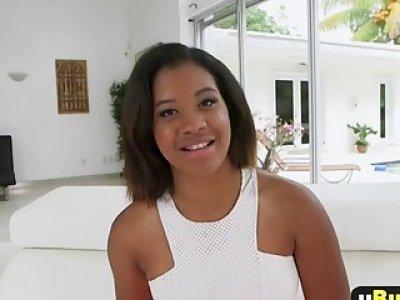 Ebony Babe Tiffany Taner Gets Pounded In Doggy