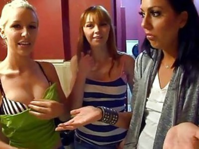 Sexy beauties are at giving wild blowjobs