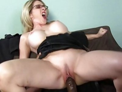 Angela Attison Interracial Anal